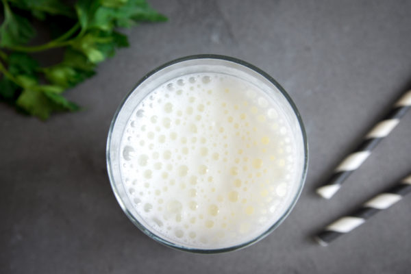 Probiotic cold fermented dairy drink for gut health