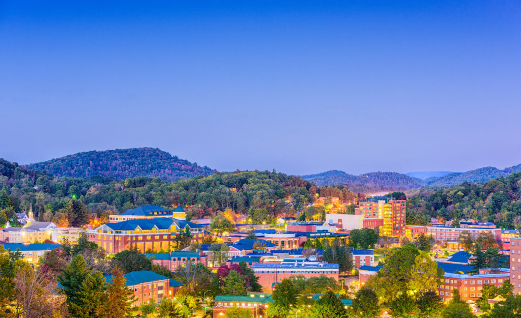 most beautiful places in united states - boone north carolina