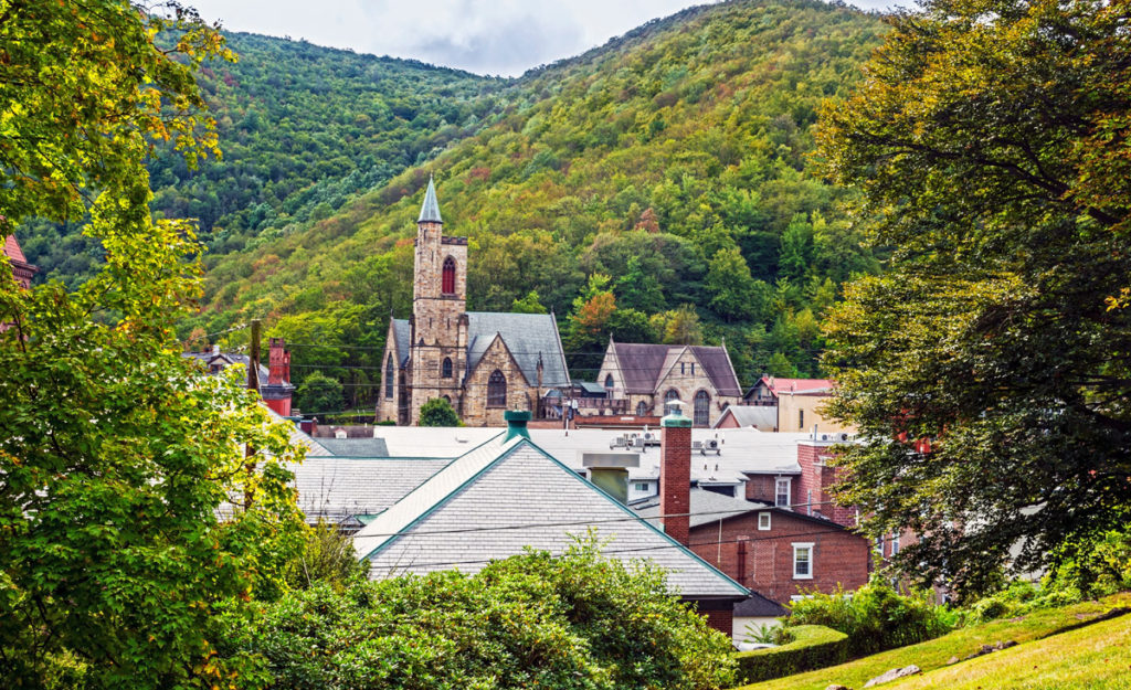 most beautiful places in united states - jim thorpe pennsylvania