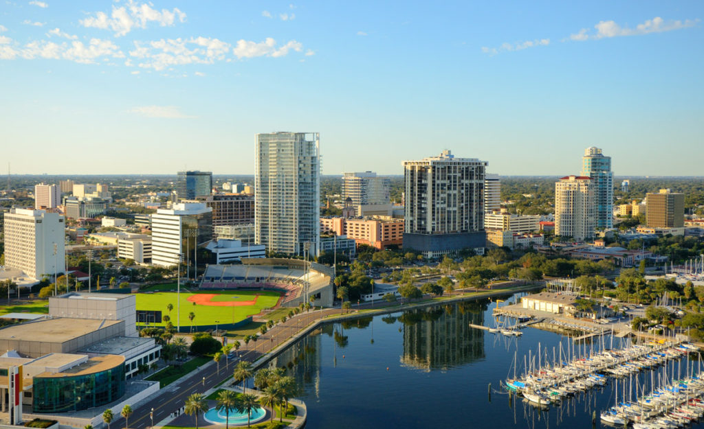 most beautiful places in united states - st. petersburg florida