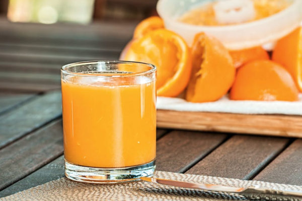 orange juice is alternative to coffee