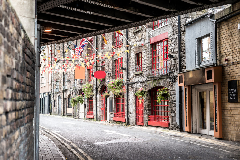 best places to travel alone internationally - beautiful street in Dublin, Ireland
