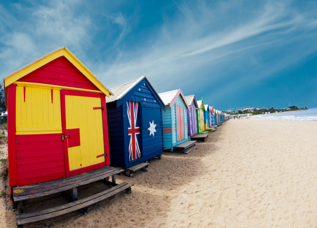 best places to travel internationally - melbourne australia beaches