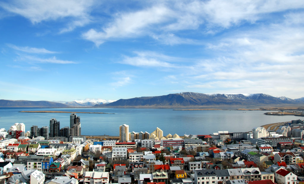 best places to travel alone - Downtown Reykjavik, Iceland