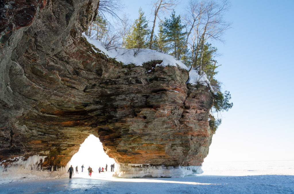 best places to see in america - apostle islands