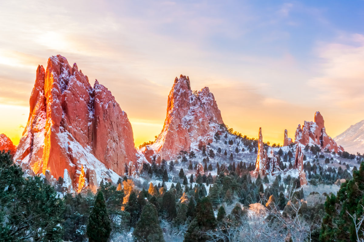 best places to see in america - garden of the gods
