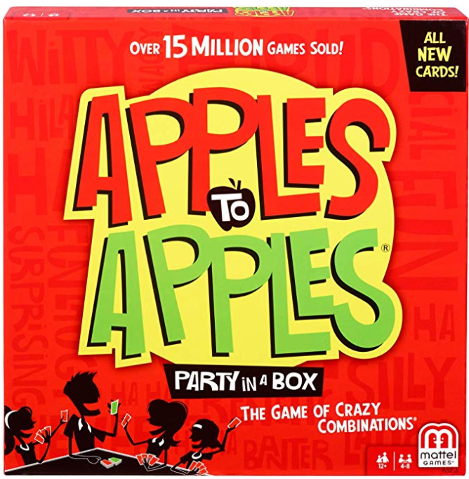 apples to apples board game box image