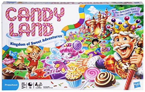candy land board game box