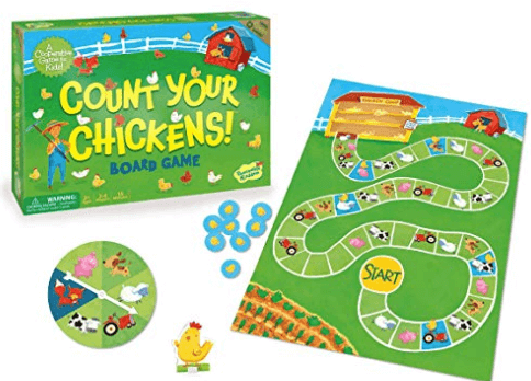 count your chickens board game box