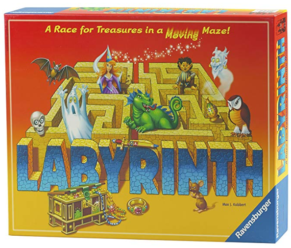 labyrinth family board game box cover
