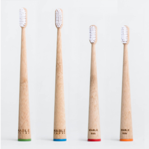 4 mable toothbrushes