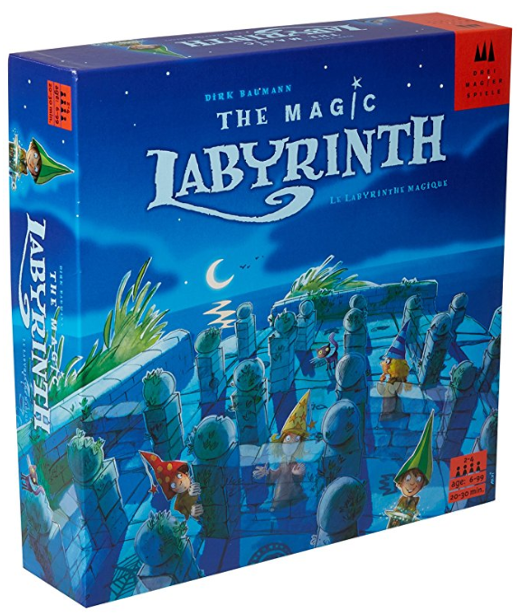 magic labyrinth family board games box cover