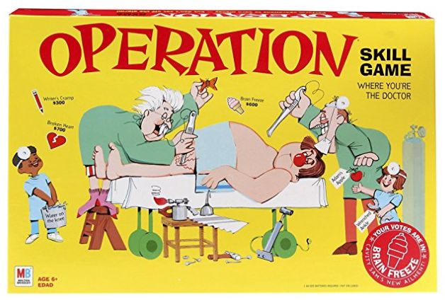 operation family board games box cover