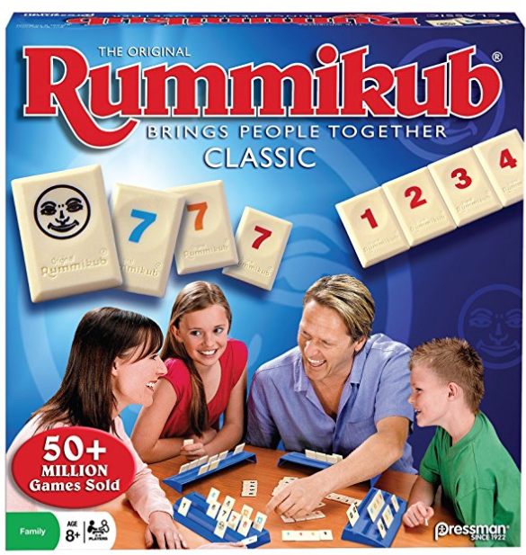 rummikub family board game box cover