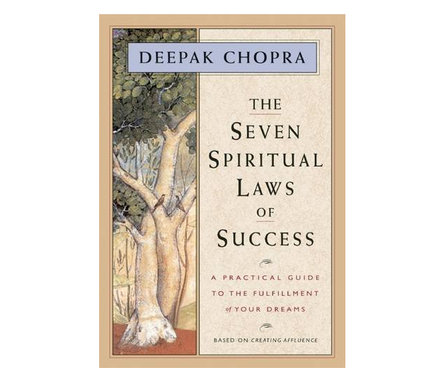 the seven spiritual laws of success by deepak chopra book cover