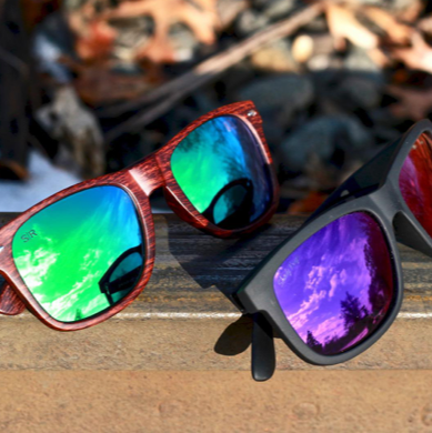 two pairs of shady rays sunglasses