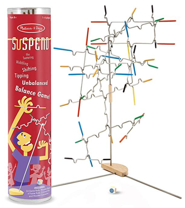 suspend family board game packaging
