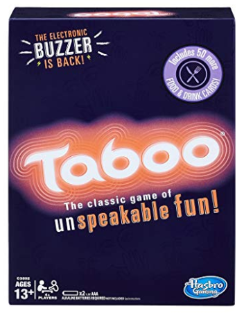 taboo family board game box cover