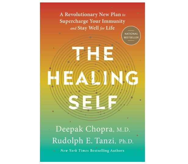 the healing self by deepak chopra book cover