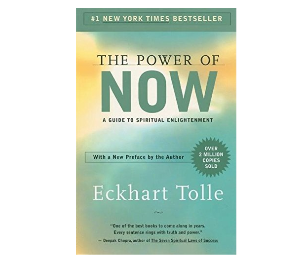 the power of now by eckhart tolle book cover