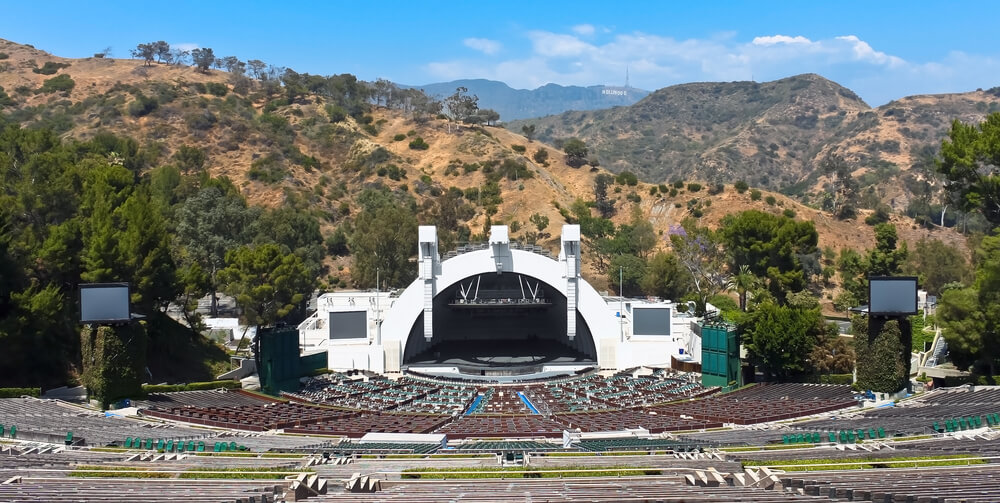 The Hollywood Bowl Amphitheater one of the top concert venues in the world