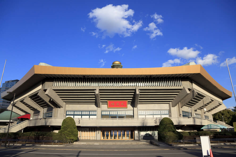 Nippon Budokan indoor arena one of the top concert venues in the world.