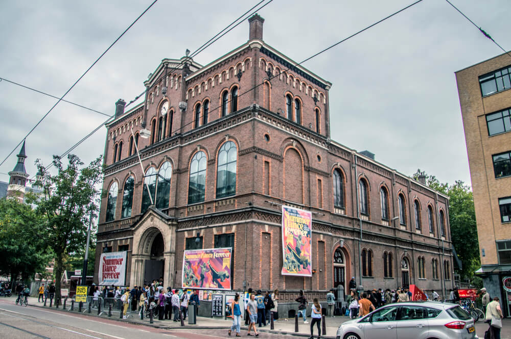 The Paradiso in Amsterdam on of the top concert venues in the world