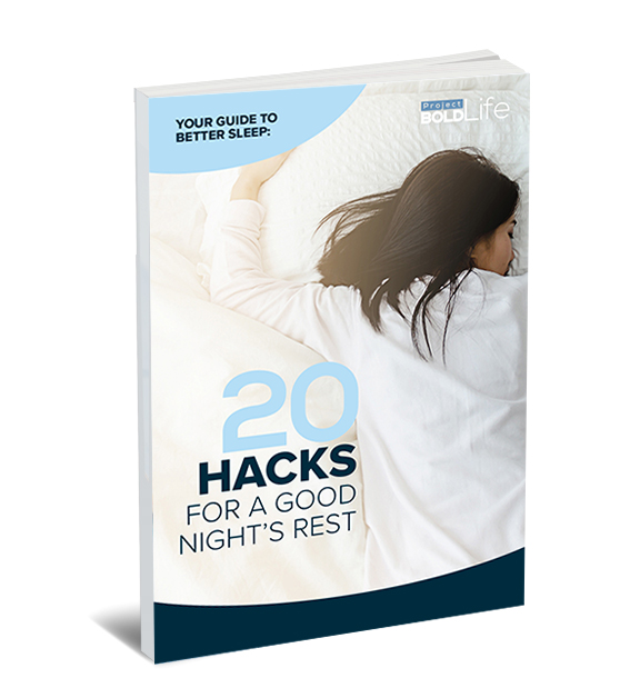 guide to better sleep including 20 hacks for a good night's rest