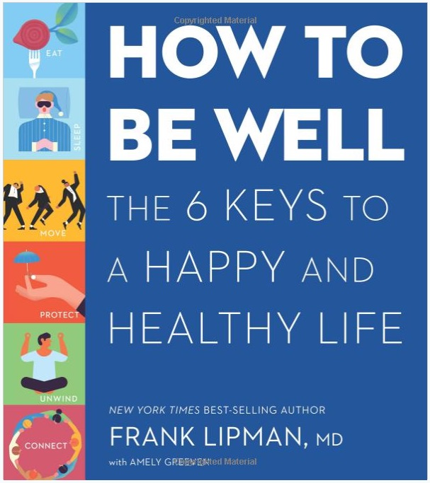 how to be well by frank lipman book cover