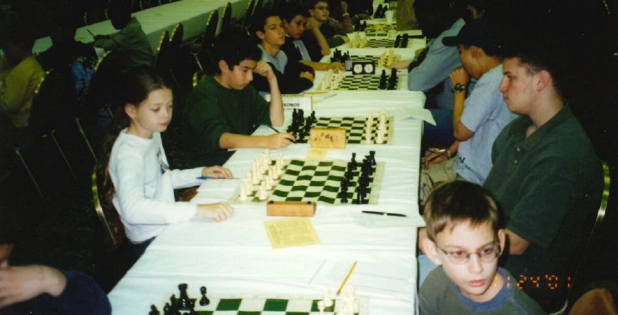 girls to grandmasters nicole maffeo competing with a boy in 2001