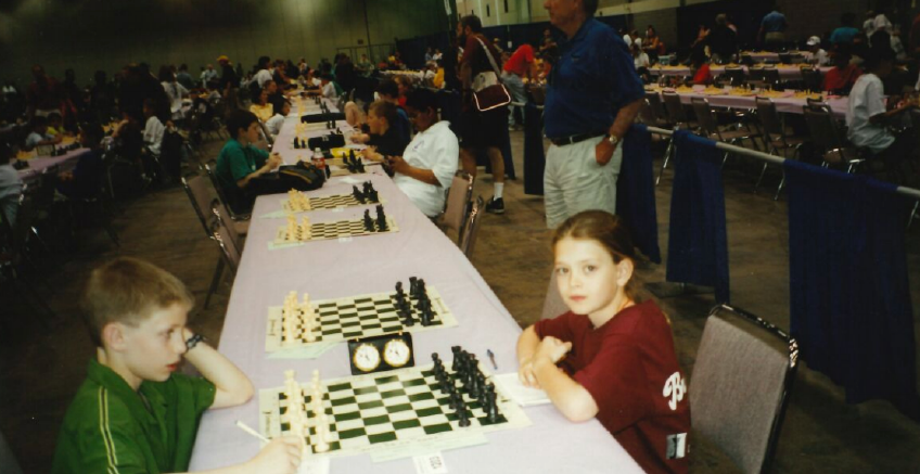 girls to grandmasters nicole maffeo competing with a boy