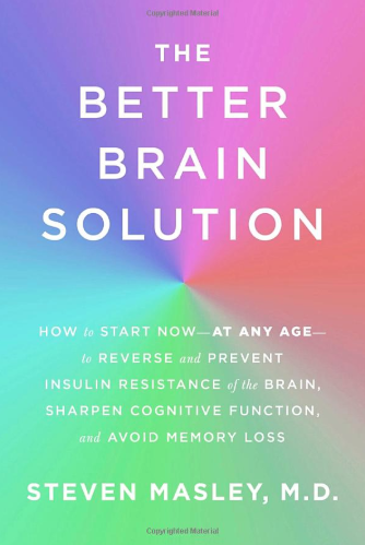 the better brain solution by steven masley book cover