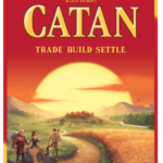 catan game box, a fun board games for adults