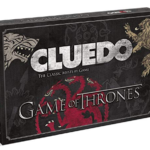 clue game of thrones game box, a fun board game for adults
