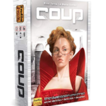 coup game box, a fun card game for adults