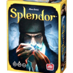 splendor box cover, a fun board games for adults