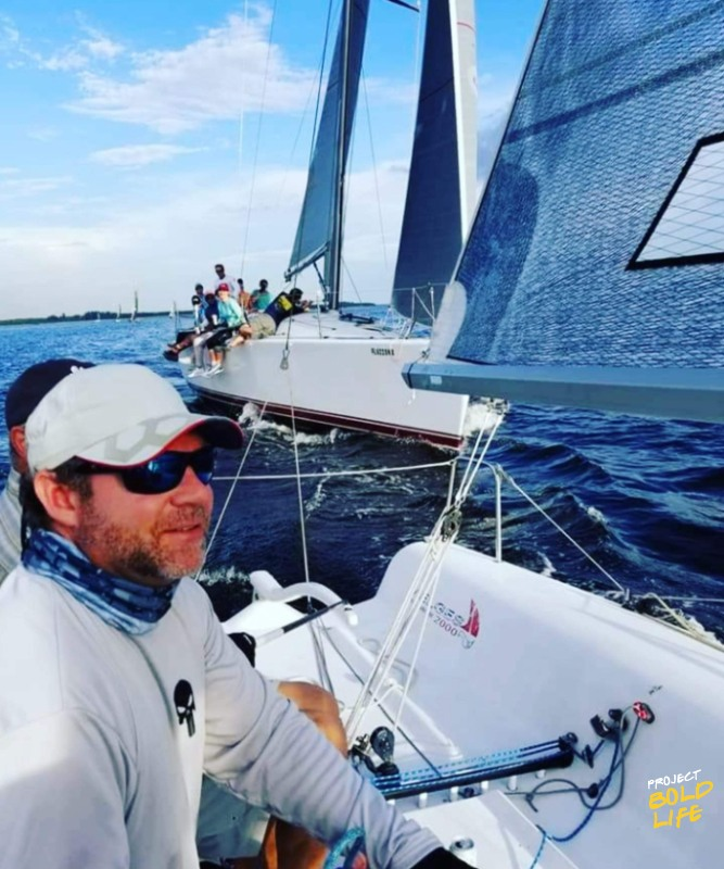 john miles sailing with this team