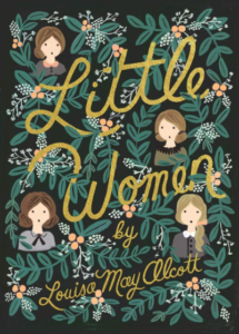 little women book cover by louisa may allcott