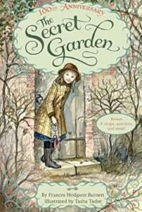 the secret garden book cover by frances hodgson burnett