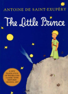 the little prince book cover by antoine de saint exupery