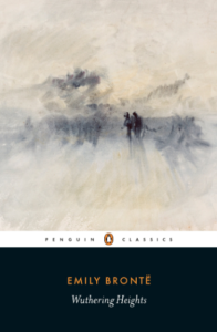 wuthering heights book cover by emily bronte
