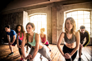 group fitness - top fitness trend