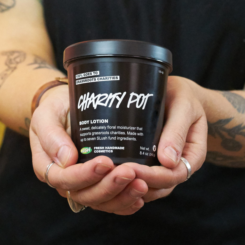 Companies with a cause – Lush charity pot program has donated millions to grassroots organizations