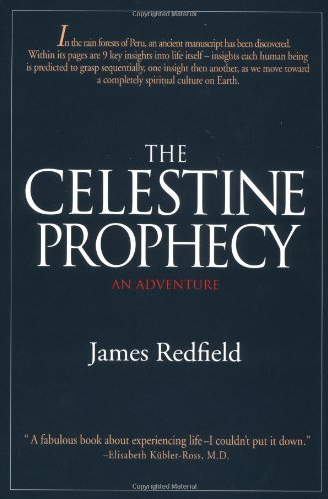 the celestine prophecy book cover - a best-selling self-help book