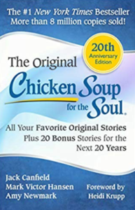 chicken soup for the soul book cover - a best-selling self-help book