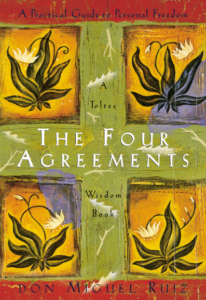 the four agreements book cover - a best-selling self-help book
