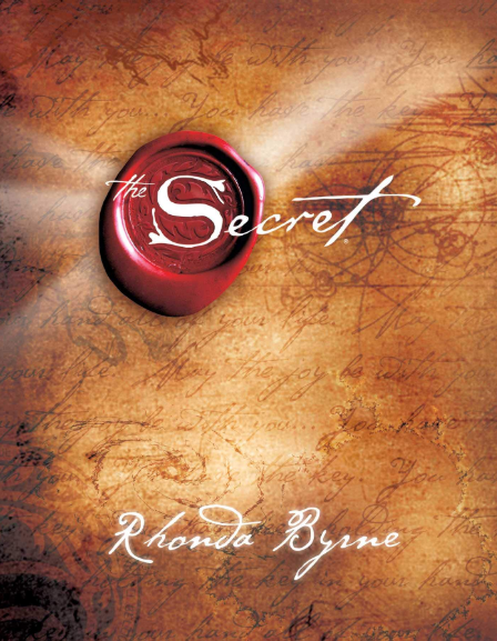 the secret book cover - a best-selling self-help book