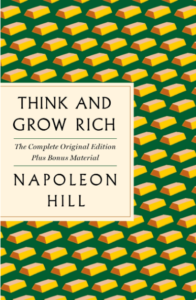 think and grow rich book cover - a best-selling self-help book