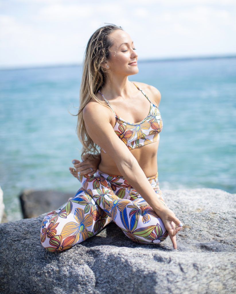 yoga guru Kino MacGregor