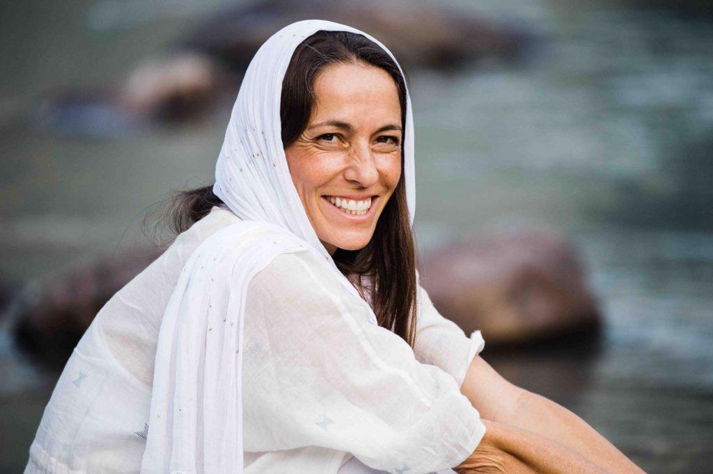 yoga guru kia miller portrait